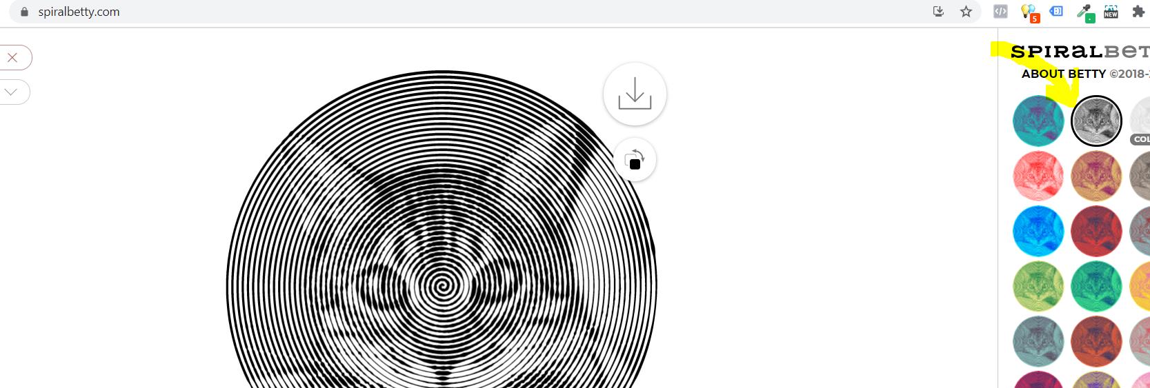 Lav spiral billeder og skær dem ud med din Cricut